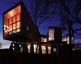 Modern Spacious House 3D