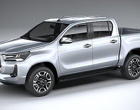 Toyota Hilux Double Cab 2021 3D