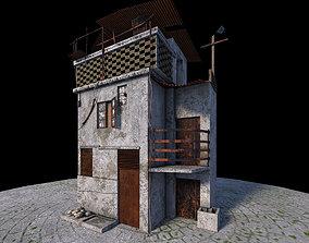 Fantasy Old House 3D model
