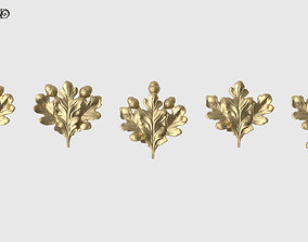 Oak Leaves Set 3D printable model