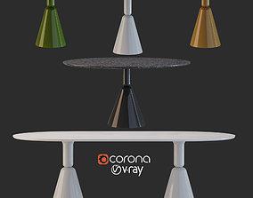 3D Pion table set