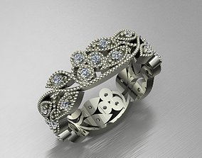 3D printable model Leaves Ring