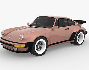 Porsche 911 930 turbo 3D asset