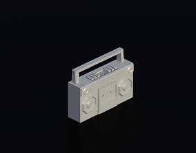 3D model Electronics Audio 04