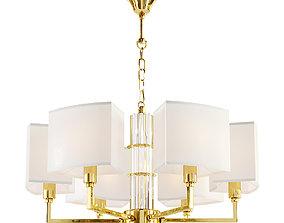 3D model Maytoni Metropolitan H015PL-06G chandelier