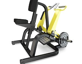 3D Technogym - Plate Loaded - Row