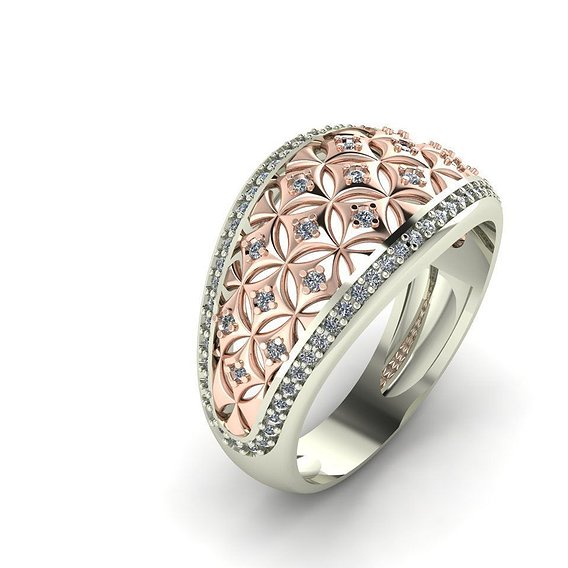Ring Stars diamond