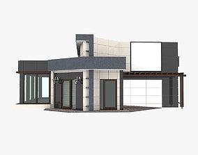 residential 3D model Trade Pavilion Shop
