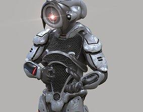 Robot K78 3D asset