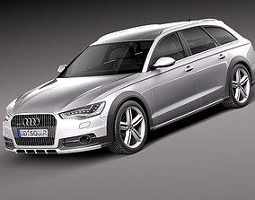 2012 Audi A6 Allroad quattro 2013 3D Model