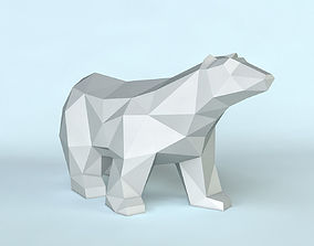 3D printable model Bear poly