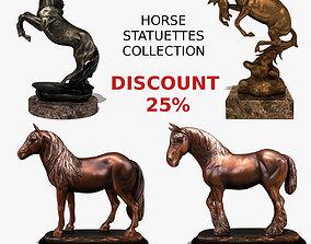 3D model Horse Statuettes Collection volume 3
