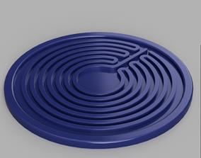 3D printable model Coaster Spiral
