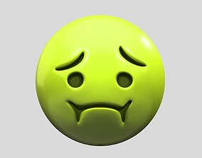 Nauseated Face 3D