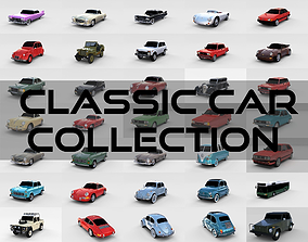 32 Classic Car Collection 3D