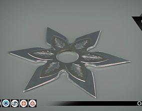 Shuriken 01 - PBR - 4K PBR 3D model