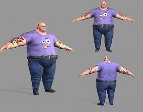 3D model Fat Gangster