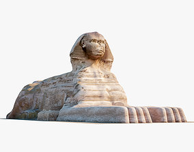 3D Great Sphinx of Giza
