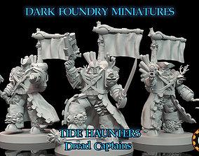 Tide Haunters - Dread Captain 3D print model