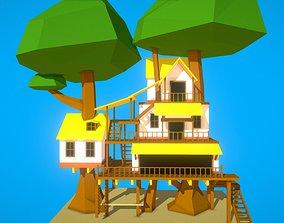 3D model HIE Tree House N2