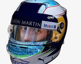 Ricciardo helmet 2018 3D model realtime