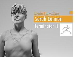 Linda Hamilton - Sarah Connor - Terminator 3D print model