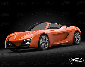 3D model Hyundai Passocorto