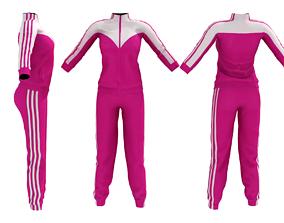 Female Sportswear 3D asset