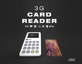 3D model New SumUp 3G Card Reader