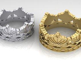 crowns 3D print model