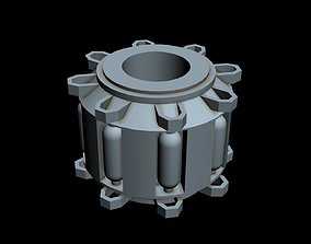 dp-20 3D model Starship part 7