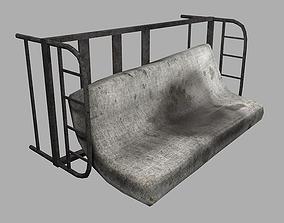 Dirty Mattress 3D asset