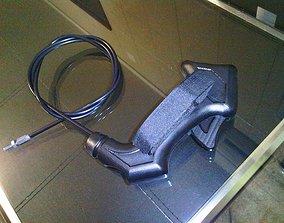 3D Punho de acelerador