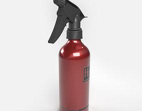 3D model H2O Water Spray Bottle