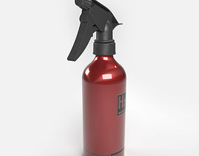 3D model H2O Water Spray Bottle
