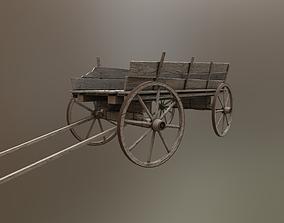 Old Cart 3D asset