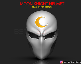 Moon Knight Mask - Marvel Comic helmet 3D printable model