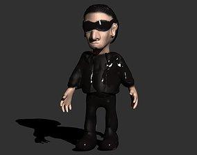 edge U2 s Bono 3D printable model
