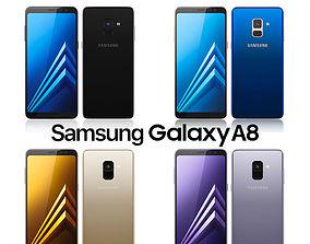 Samsung Galaxy A8 All Colors edge 3D model