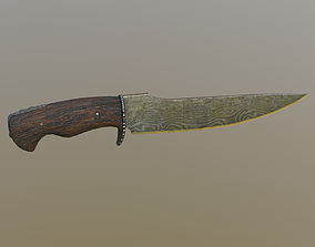 Unlucky Knife 3D model