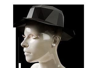 3D print model LowPoly Sun Hat