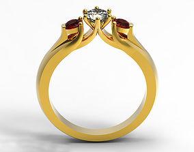 3D printable model Engagement Ring