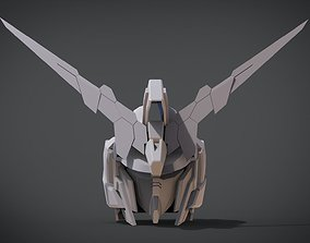 RX-0 Unicorn Gundam 01 Full Armor Head 3D printable model