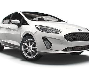 Ford Fiesta Trend 5d 2021 3D