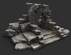 Ancient Gate 3D asset