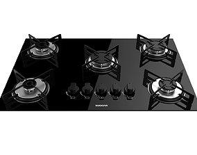 3D Cooktop Suggar 5 Burners FG5005VP