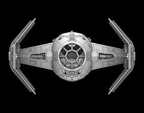 3D print model Star Ware A New Hope Tie X1 Advance Darth