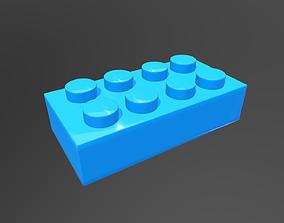 Lego block 3D model