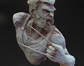 3D print model Wolverine bust