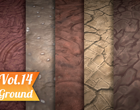 3D model Stylized Ground Vol 14 - Hand Painted Texture